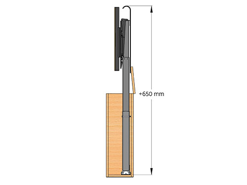 Maximum height cabinet